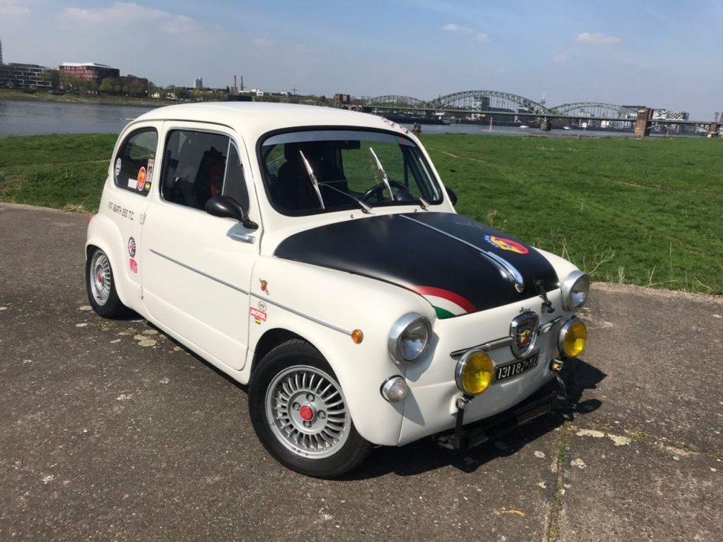 Fiat Abarth Oldtimer ADAC Marita Wollgam GmbH