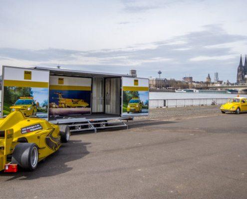Formula Racing Transporter der Marita Wollgam GmbH